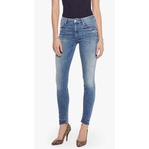 MOTHER The Looker Graffiti Girl Skinny Jeans